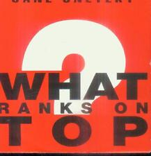 """7"""" Jane snetzky/What ranks on top (D)"""