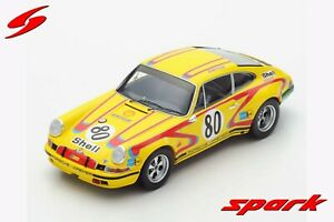 1/18 Spark   Porsche 911S  Porsche Kremer Racing  Le Mans 24 Hrs 1972 #80
