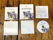 Apple Mac OS X 10.6 Snow Leopard W/ Original Box Complete W/ Apple Stickers