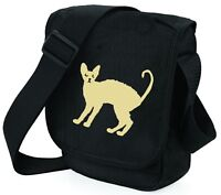 Cat Bag Mini Reporter Cornish Rex Cat Shoulder Bags Cornish Cat Mothers Day Gift