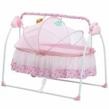 Decdeal Electric Baby Portable Bassinet Cradle