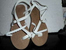 Unbranded Flat (0 to 1/2 in) Elastic Sandals for Women