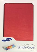 "Samsung Galaxy S Tab Slim Sleeve Case Cover for Galaxy s tab 8,4"" - red"