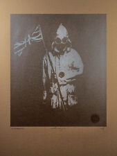 signed screenprint - punk diy union sex north jack attack reid jamie pole flag