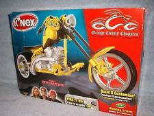 Mikey's Swing-Arm Bike Yellow K'NEX 12009 1/6th Scale Orange County Choppers