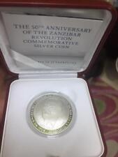 Zanzibar Commemorative Coin to mark 50 years of revolution - Silver Coin