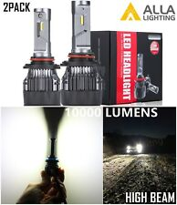 Alla Lighting LED 9005 Headlight Bright High Full Beam Bulb Lamp White 6000K,2pc