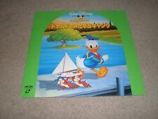 DISNEY LASERDISC Collectors Edition JAPAN PRESSING With Insert  Donald Duck