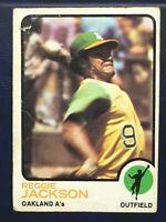 1973 Topps 4 Card Star Lot Reggie Jackson Lou Brock Bob Gibson Carew Not Mint