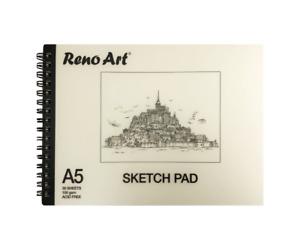 Sketch Pad A5 150gsm Atrist Painting Art Paper Sketchbook Drawing Craft Pastel