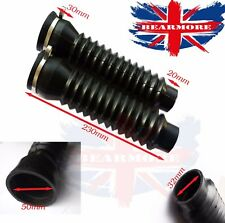 Front Universal Rubber fork Cover Gators Boot Shock for Royal Enfield Bullet