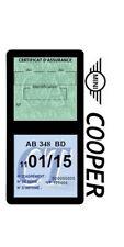 Porte vignette assurance MINI COOPER double étui voiture Stickers auto rétro