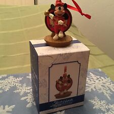 Disney Limited Edition Sketchbook Ornament 1955 The Mickey Mouse Club Premieres