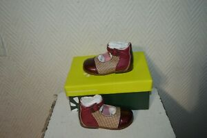Shoe Bebe Leather Boot Aster Odele Size 19 New