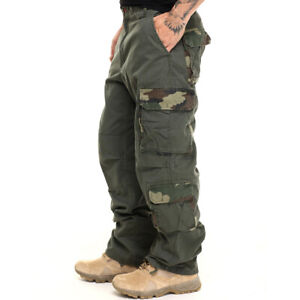 US Men Multi-Pocket Cargo Combat Overalls Camo Pant Trouser Loose Casual Bottoms