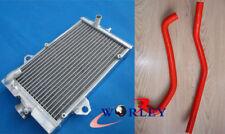 Radiateur en Aluminium + Rouge Tuyau Pour Yamaha Raptor 700 YFM700R YFM700 2006-2012 07