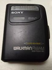 Sony Walkman Wm-Fx-301 Auto Reverse Cassette Player and Am Fm Radio for Parts