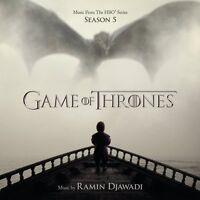Game of Thrones Season 5 Original Soundtrack (Ramin Djawadi) (NEW CD)