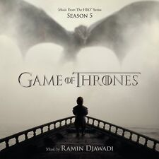 Game of Thrones Season 5 Original Soundtrack (Ramin Djawadi) (NEW CD)