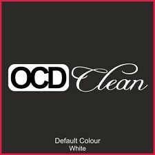 OCD Clean Decal 2, Vinyl, Sticker, Graphics,Car, Racing, Stack, Funny, N2150