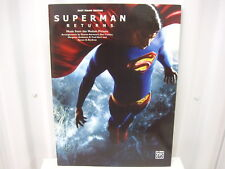 Superman Returns Music from the Motion Picture Easy Piano Sheet Music Song Book
