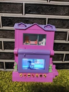 PIXEL CHIX  Story House Interactive Tested Mattel PINK PURPLE