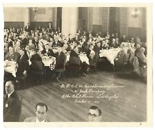 Vintage 1927 Boxer Jack Dempsey Honorary Dinner at LA Elks Club Oversized Photo