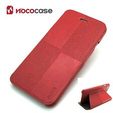 Leather HOCO CRYSTAL FASHION  Wallet Book case for APPLE IPHONE 6 PLUS- RED