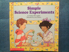 Simple Science Experiments by Andrea McLouglin (1996, Paperback)