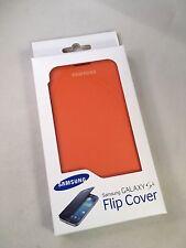 Brand New Official - Samsung Galaxy S4 Flip Cover Case - Orange  - I9500 I9505