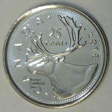 2018 Canada 25 Cents BU