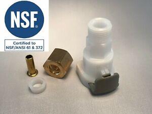 For InSinkErator Hot Water Snap-connect fitting 43103C HWT-00 HWT200  HWT300 SST