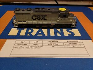 HO BACHMANN SPECTRUM LOCOMOTIVE CSX 4223 DIESEL ENGINE 🚂🇺🇸 L26