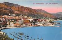 B38554 Monte Carlo Vue prise de Monaco