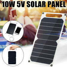 Solar Panel 10W 5V Battery USB Chargers Waterproof