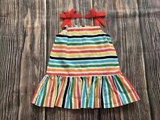 Baby Girl Hanna Andersson Striped Dress Summer Casual Dress Size 70cm 6-12M NICE