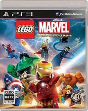 Gebraucht PS3 PLAYSTATION 3 Lego R Marvel Super Heroes das Spiel 13945 Japan