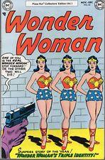 Wonder Woman #62 1977 Pizza Hut Giveaway Vol.1 Dc Vg