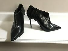 Vintage by JEFFREY CAMPBELL Black Patent Leather Ankle Boots SZ 8.5-NEW