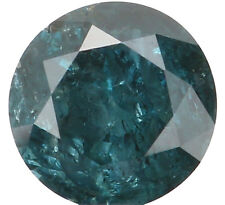 Natural Loose Diamond Round I2 Clarity Blue Color 3.70 MM 0.22 Ct L4957