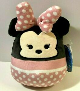 """Squishmallows Minnie Mouse 5"""" Inch Disney Collectible Stuffed Animal NWT Cuddly"""