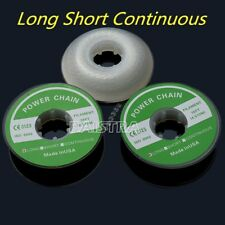Dental Orthodontic Elastolink Power Chain Long Short Continuous Clear White