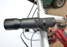 LED Bike Flashlight 800 LUMENS Bicycle Mount, Battery, Wire Switch. USB CHARGE