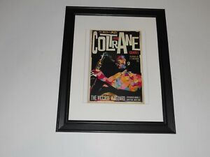 "Large Framed John Coltrane Quintet NYC Village Vanguard 11/1/61 Poster 24""x20"
