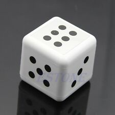 Fashion Dice Black Ashtray Cigarette Ashtray Modern Looks White Dices Design New