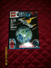 LEGO STAR WARS #9674 NABOO STARFIGHTER AND NABOO SERIES 1