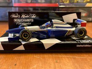Jacques Villeneuve Williams Renault FW17 Silverstone Test 1995 - Minichamps 1:43