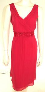 Boden Kleid Dress Seide Rosa Gr. L