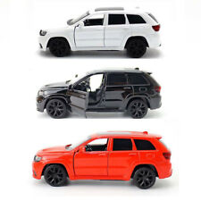 Model Child Diecast Vehicle Kids Car Gift Jeep Grand Cherokee Trackhawk Toy SUV