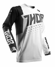 Thor Riding Race MX Motocross Youth Jersey S7Y Pulse Aktiv White/Black Small